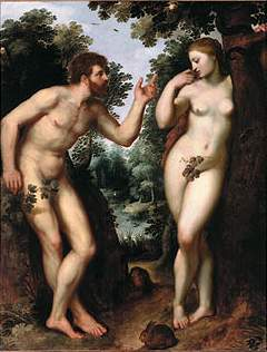 Adam en Eva, Peter Paul Rubens