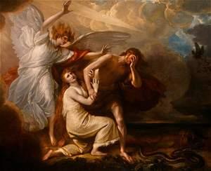 Adam en Eva, Benjamin West, 1791