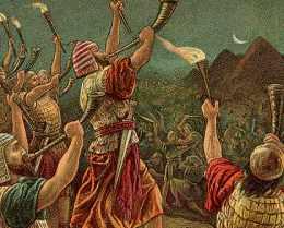 Gideon en de midianieten