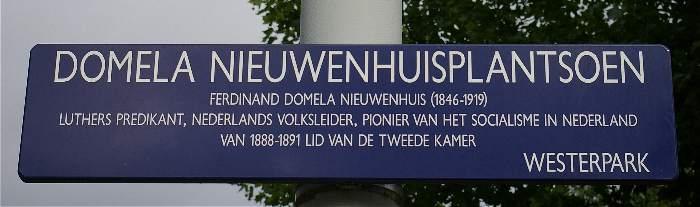 Domela Nieuwenhuisplantsoen