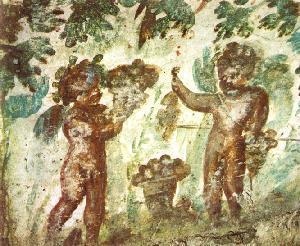 Romeinse symboliek in christelijke catacomben