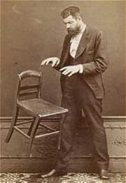 pionier-fotograaf Edouard Buguet laat een stoel dansen